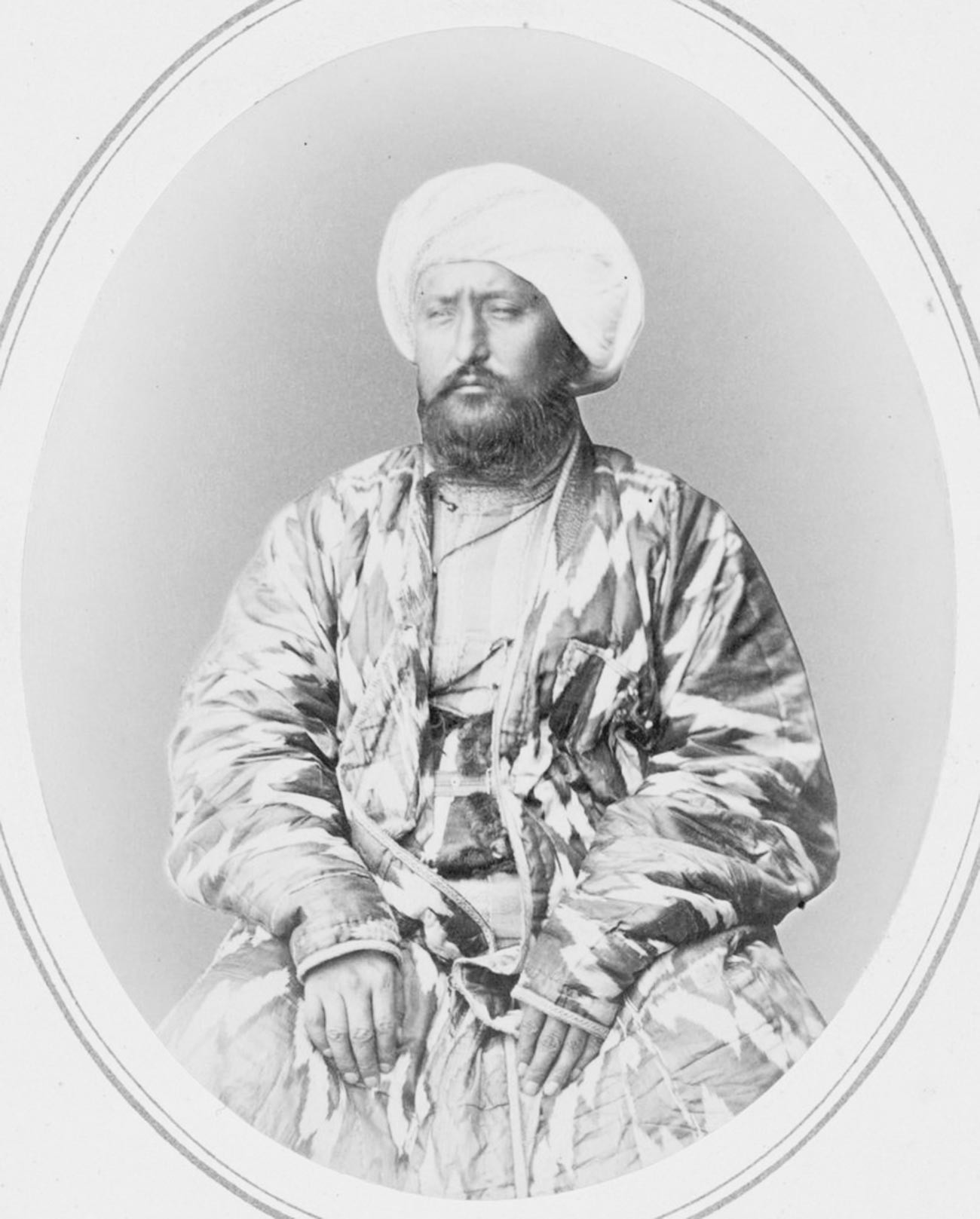 Muhammad Khudayar Khan, o cã de Cocande.