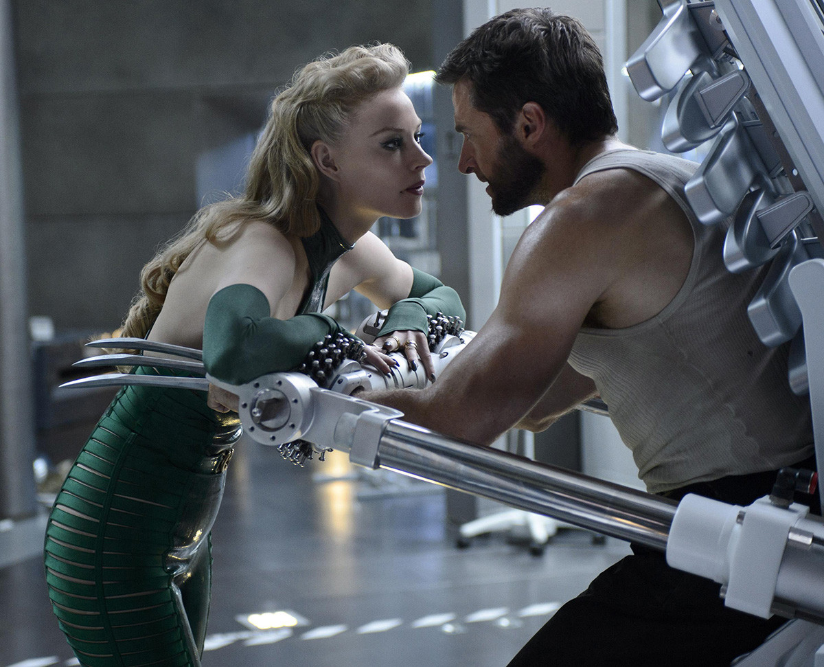 THE WOLVERINE 2012 20th Century Fox Film With Hugh Jackman And Svetlana Khodchenkova