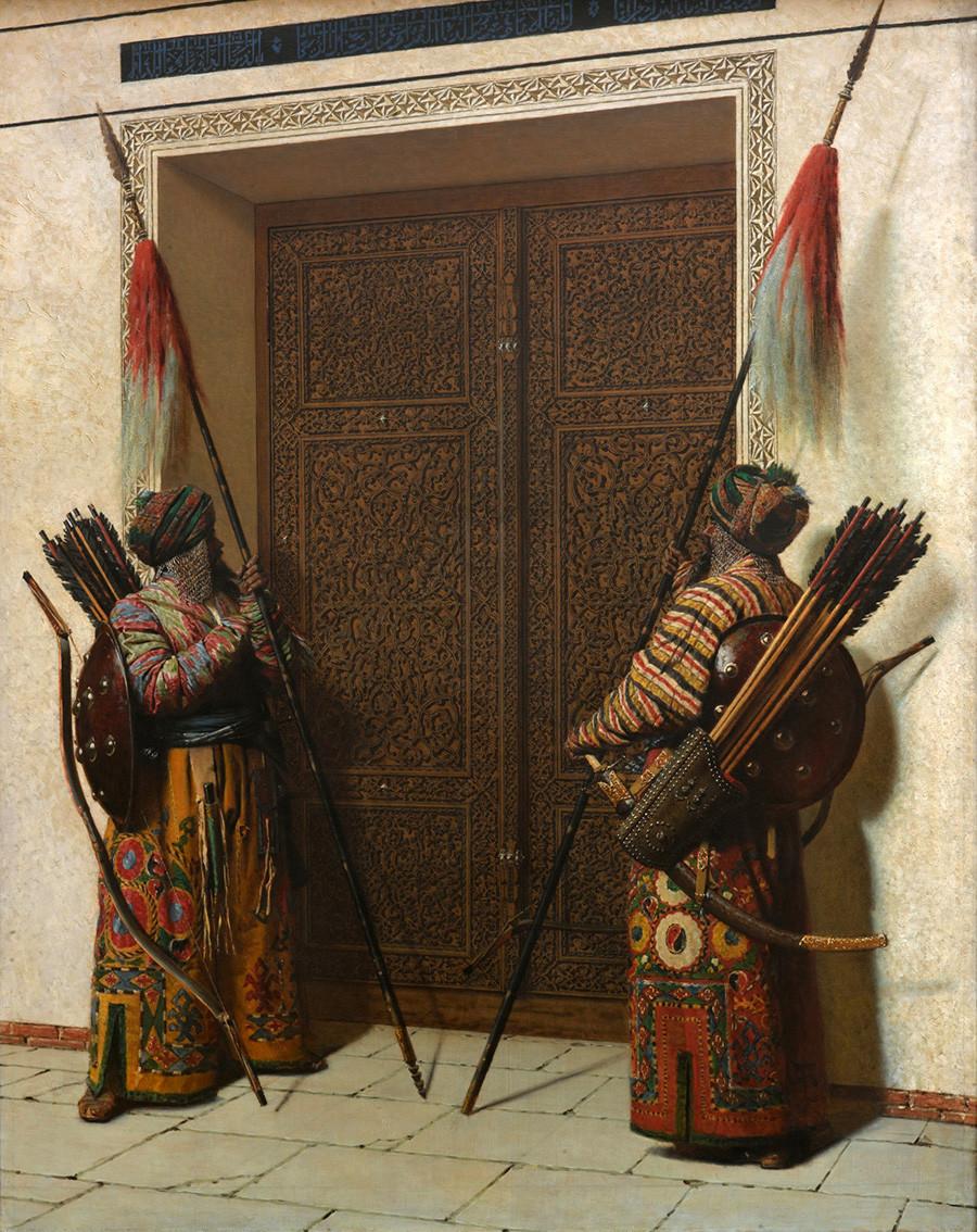 Vasilij Vereščagin. Vrata Timurja (Tamerlana). Iz Turkestanske serije