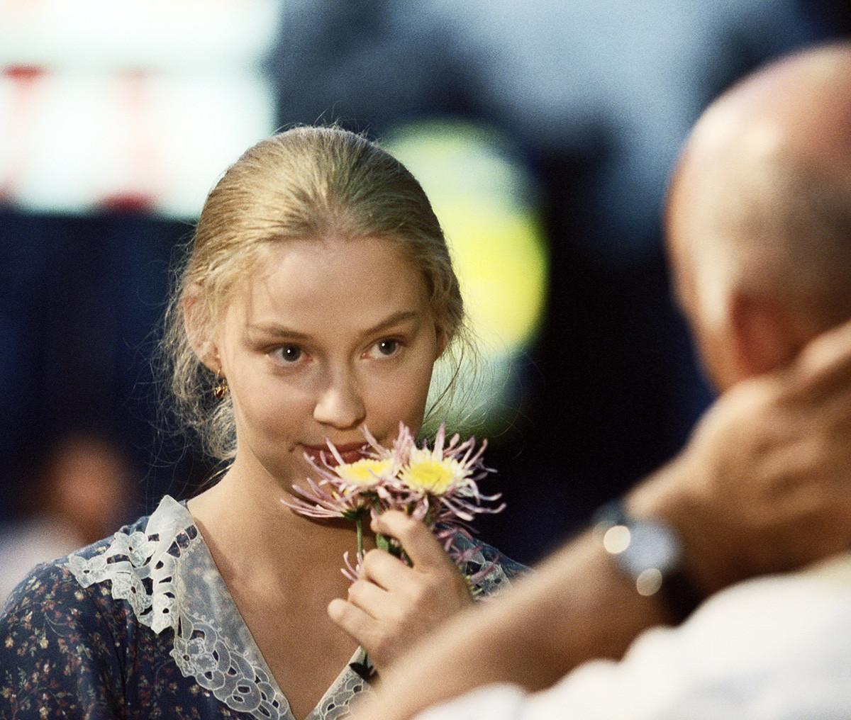 ドラマ「Bless the woman」に演じるスヴェトラーナ・コドチェンコワ