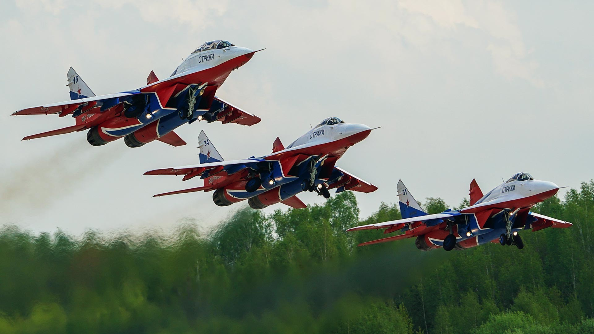 Lovci MiG-29 pilotske grupe