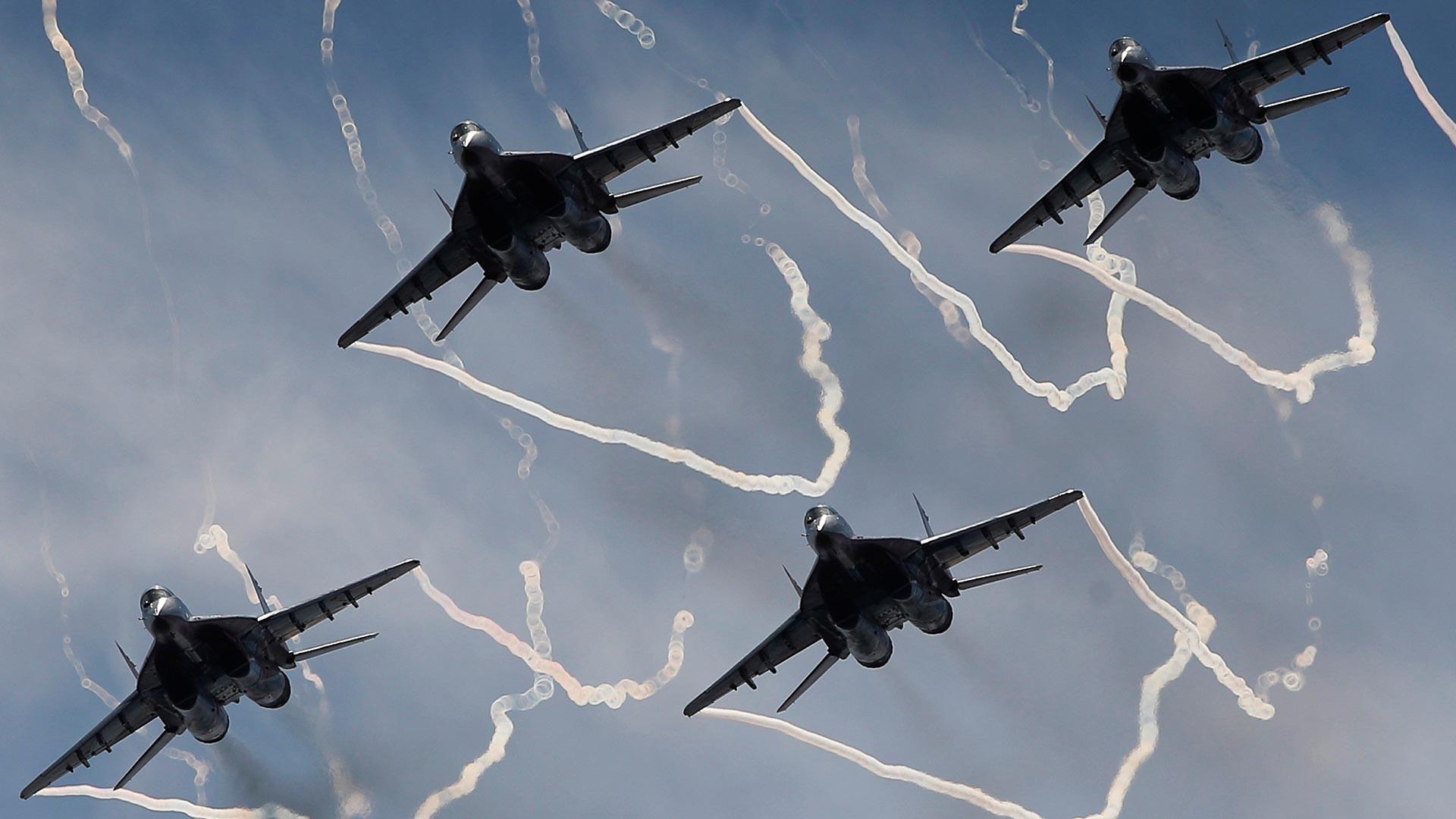 Striži na mednarodnem vojaško-tehničnem sejmu Armija-2020 v Kubinki