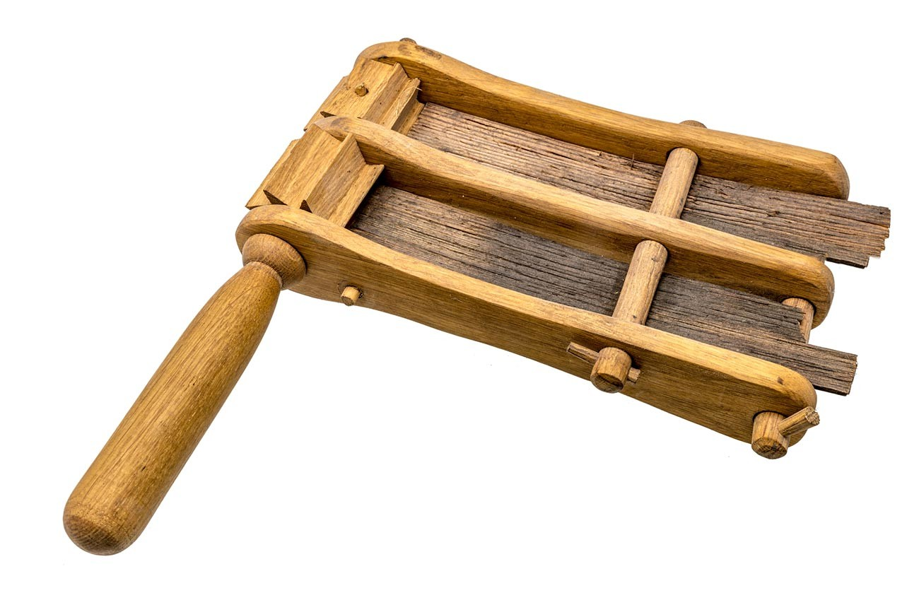 Tradizionale sonaglio in legno