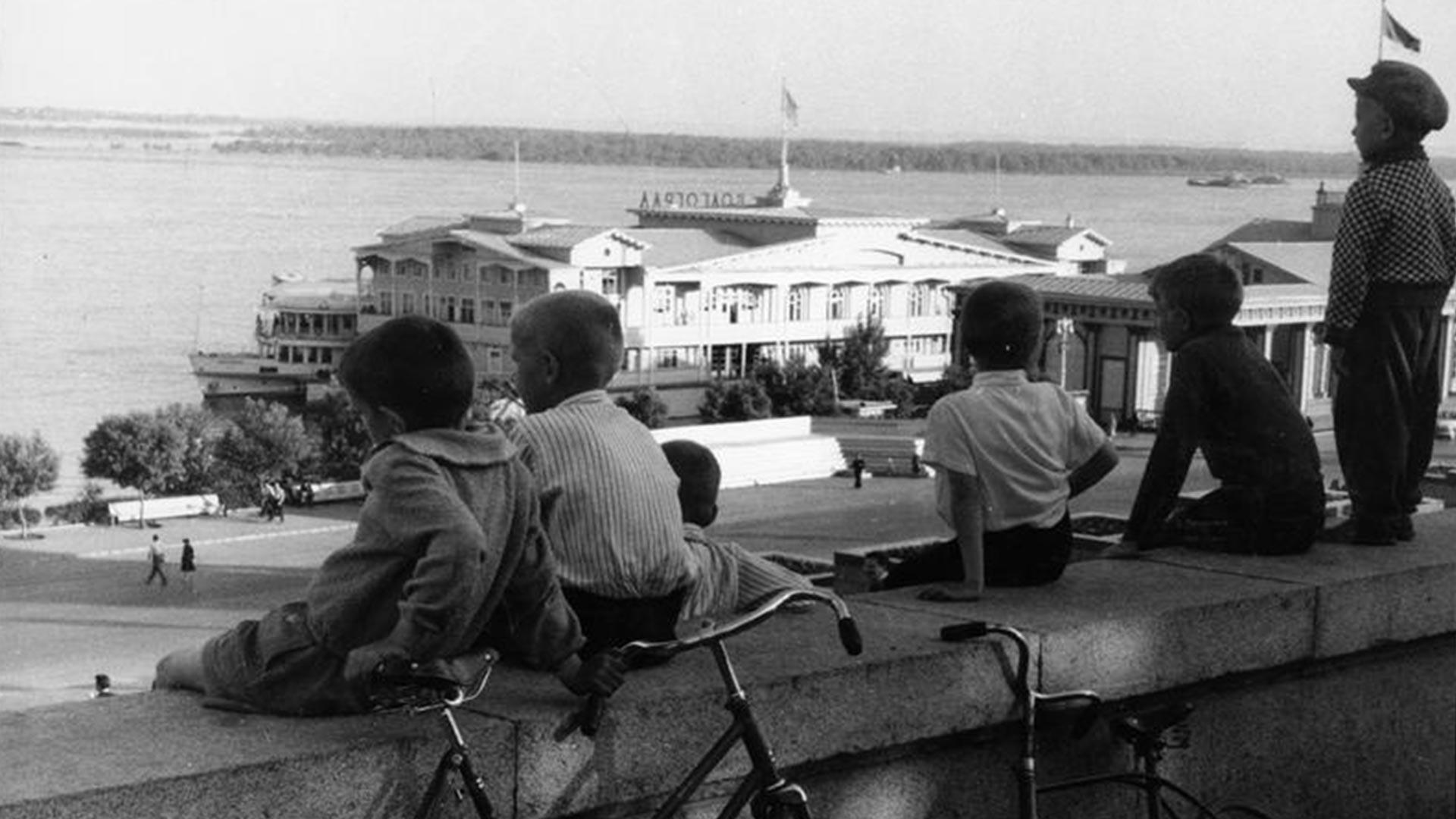 Das Terminal im Jahr 1966.