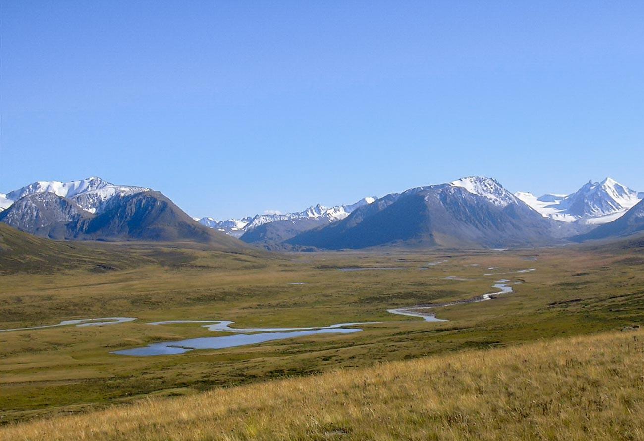 The Ukok plateau.