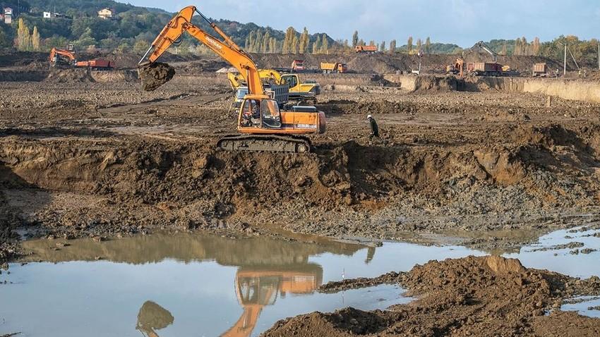 Gradnja novega sistema za dovod vode na Krim