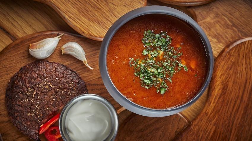 Popolna juha za vegetarijance!