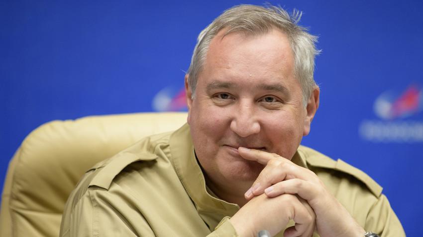 Dmitrij Rogozin, vodja Roskosmosa
