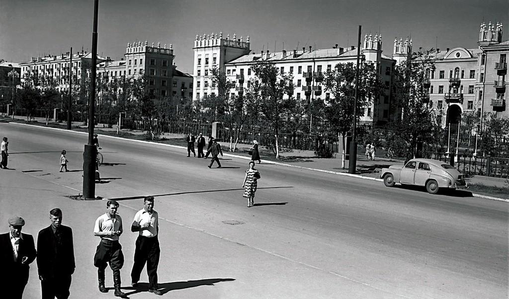 Magnitogorsk, anos 1950.
