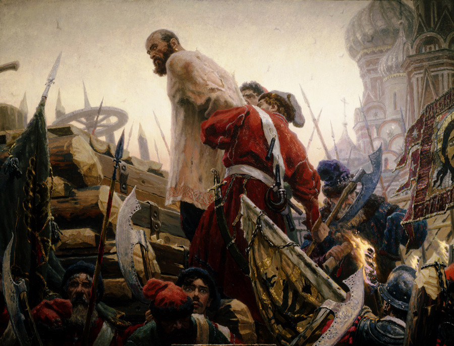 """Eksekusi Stepan Razin"" oleh Sergey Kirillov"