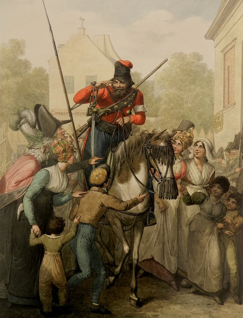 Cosaques en France