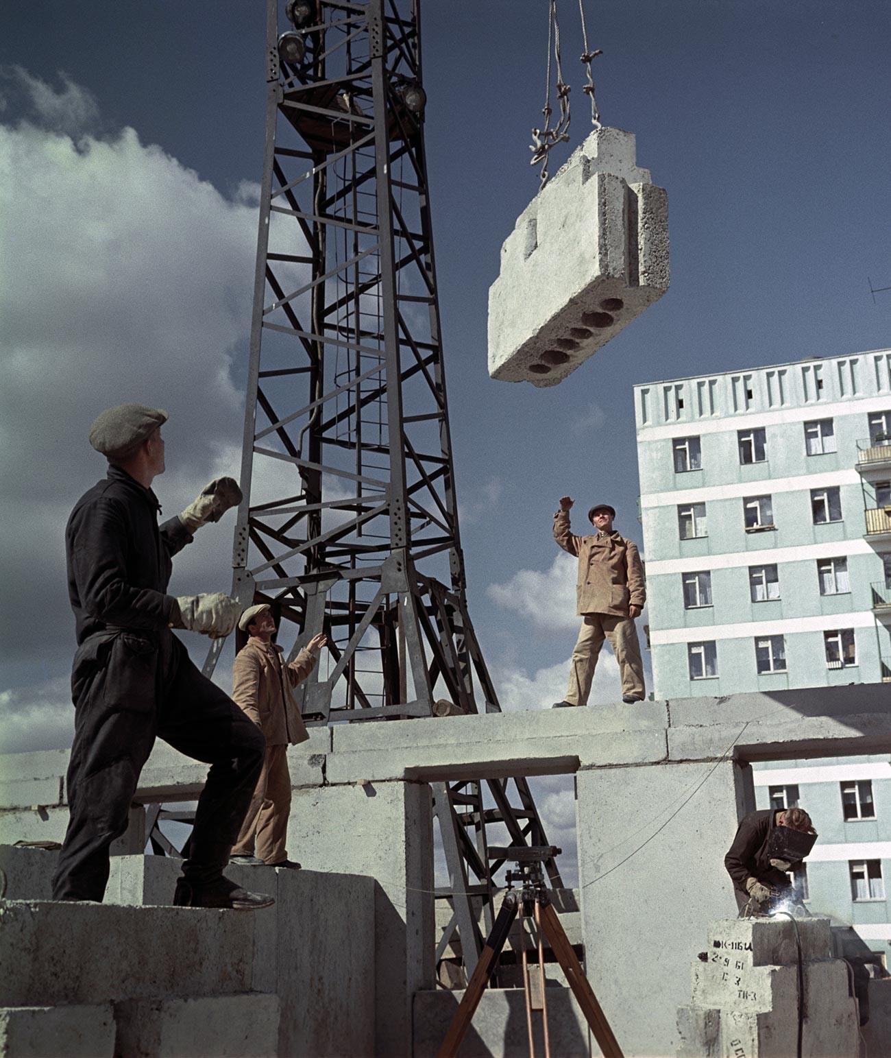 モスクワの宅地造成