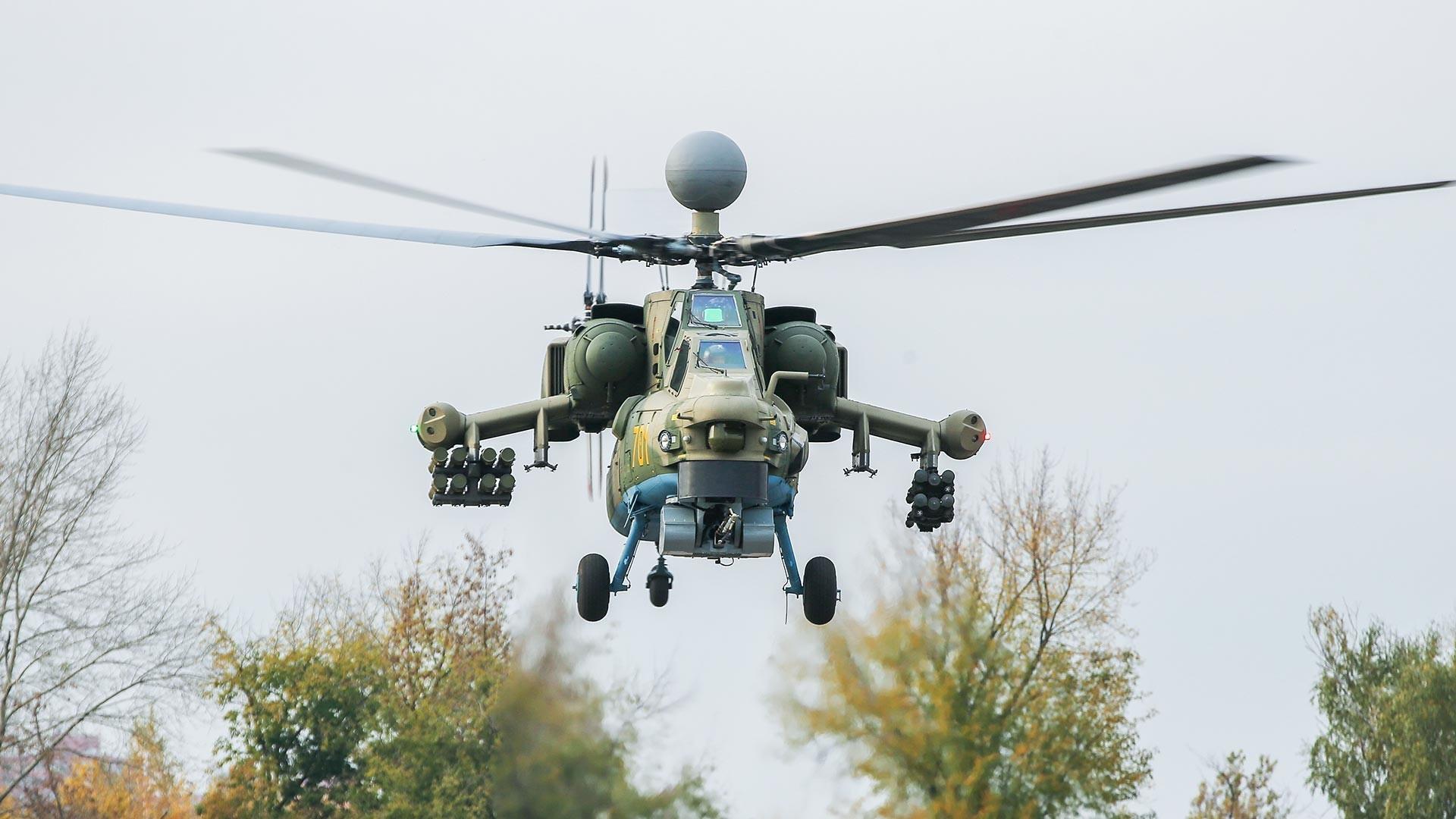 Prvi uzorak moderniziranog helikoptera Mi-28N.