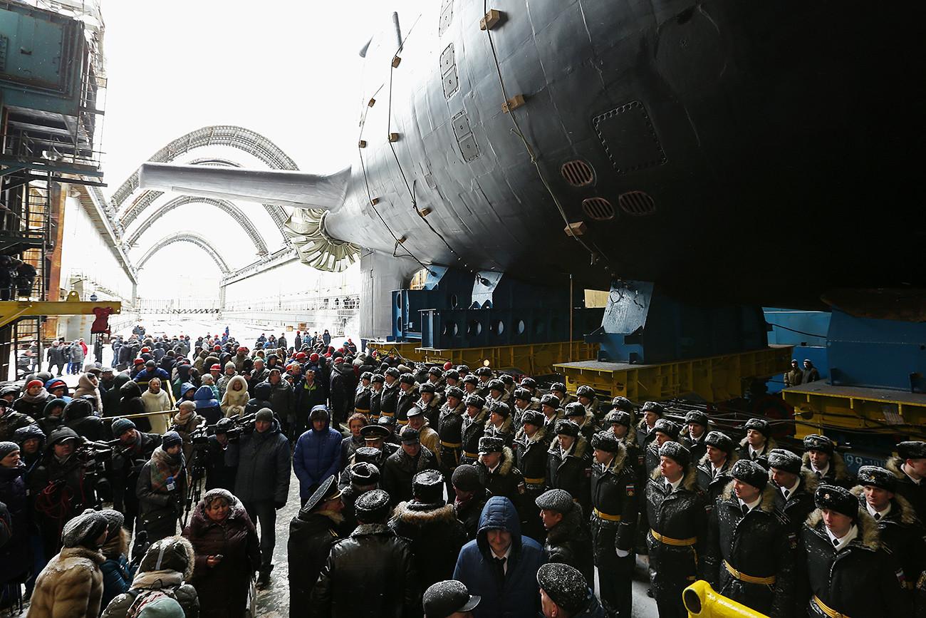 """Нуклеарна подморница """"Казањ"""