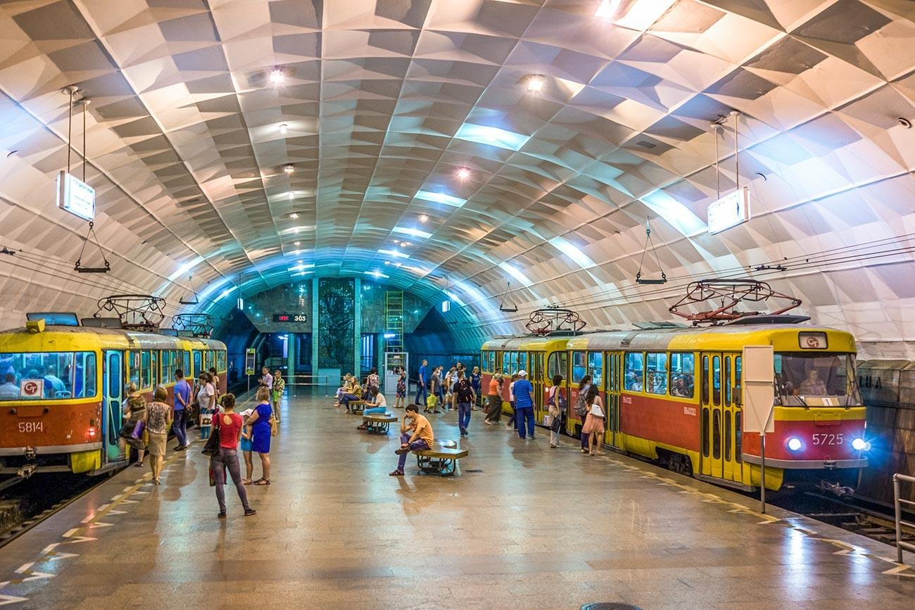 Station Plochtchad Lenina
