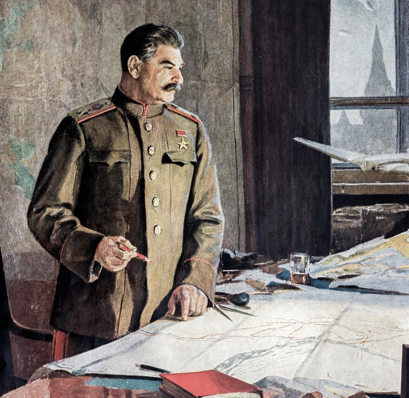 Никита Хрущев пытался доказать, что Сталин был полным профаном в военных вопросах.