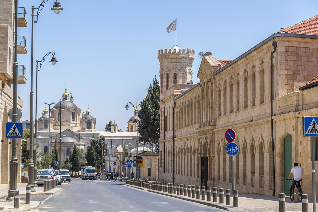 The Russian Compound of Jerusalem