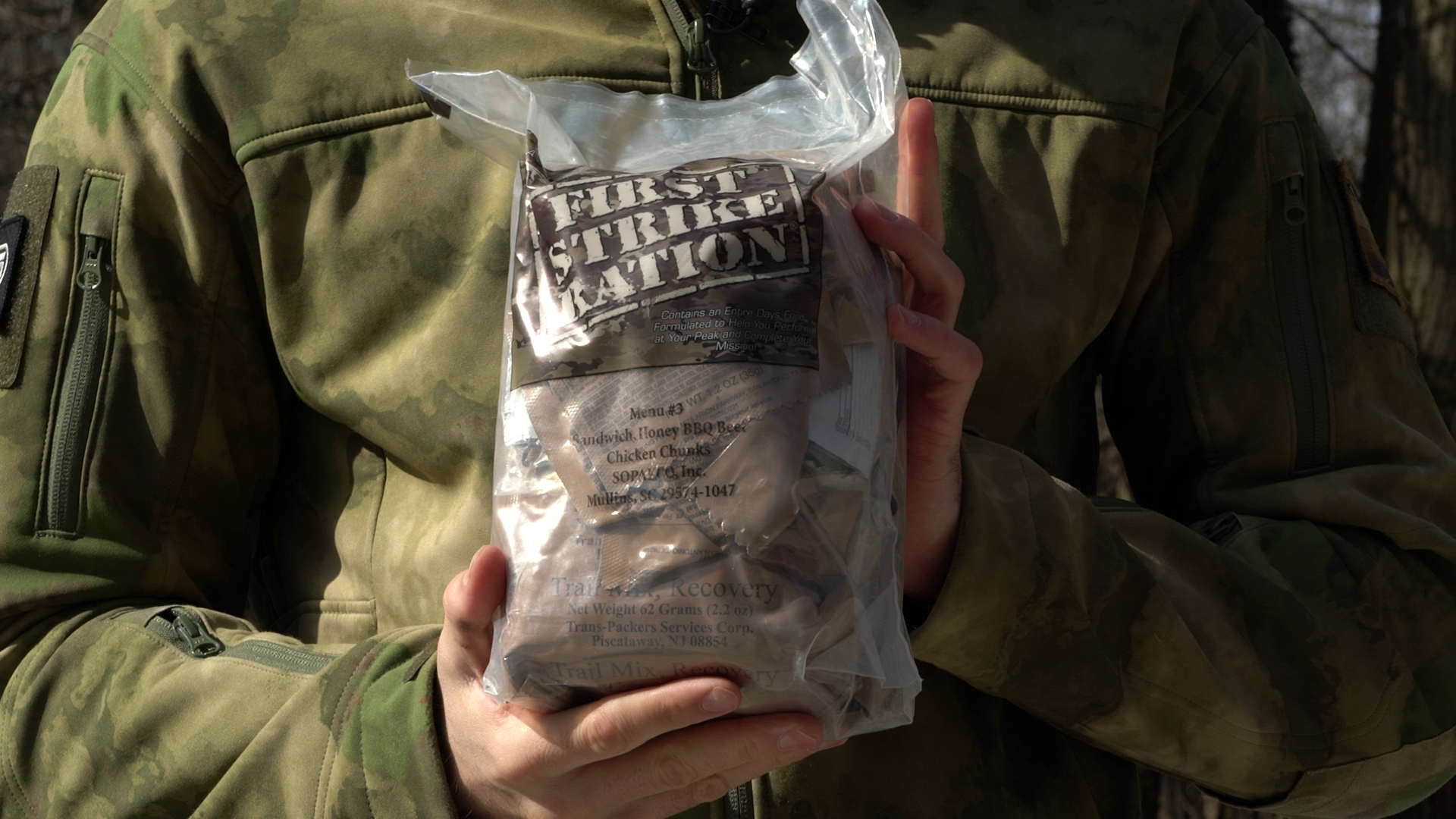 'First Strike Ration' food pack