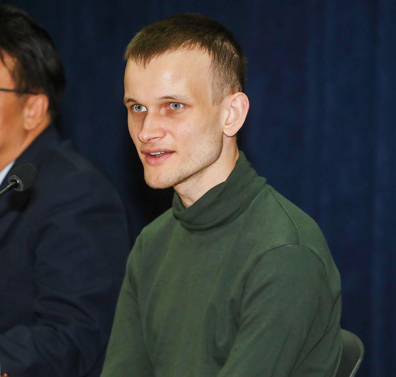 Pendiri Ethereum Buterin di Seoul.