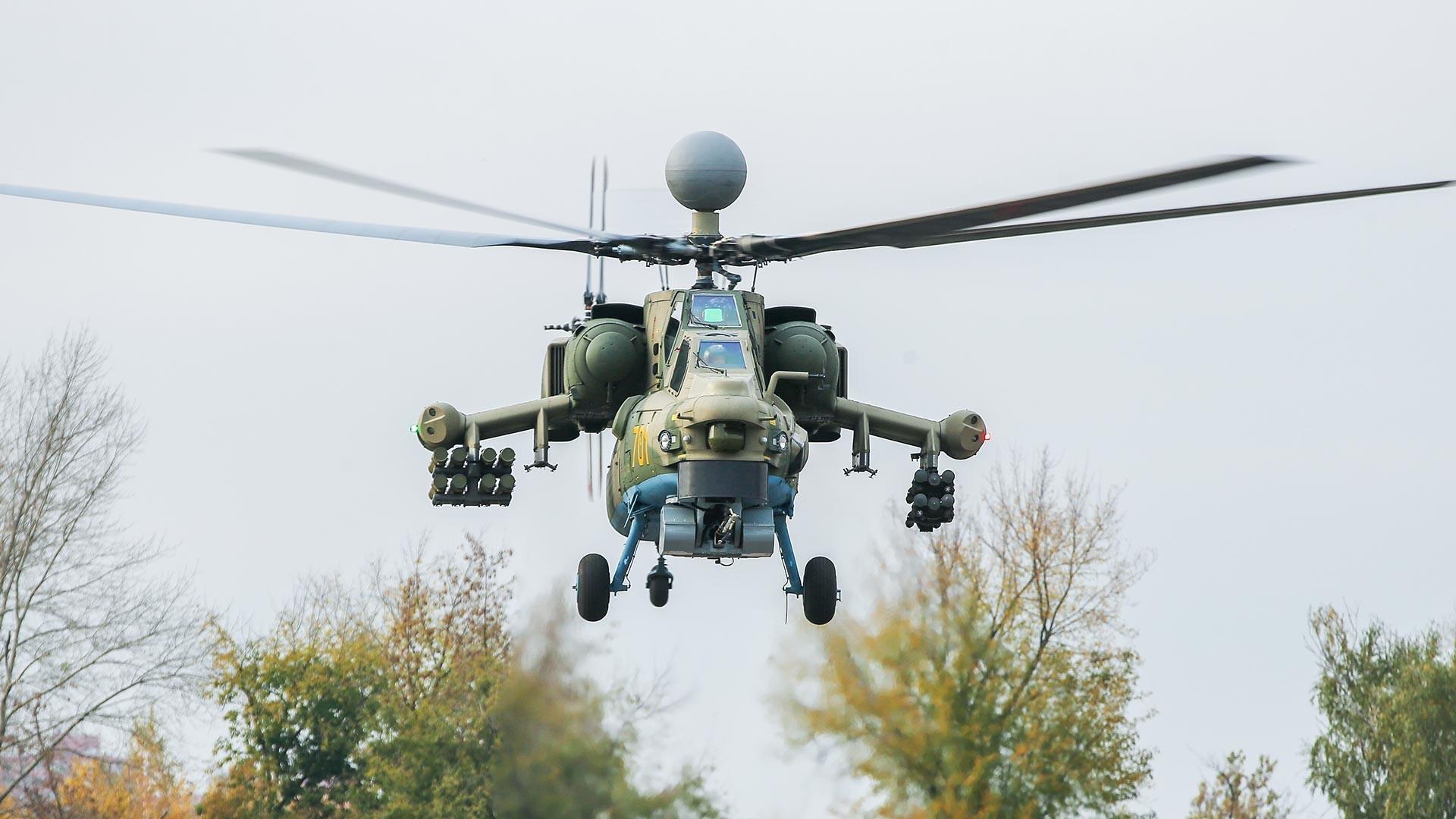 Первый образец модернизированного вертолета Ми-28Н