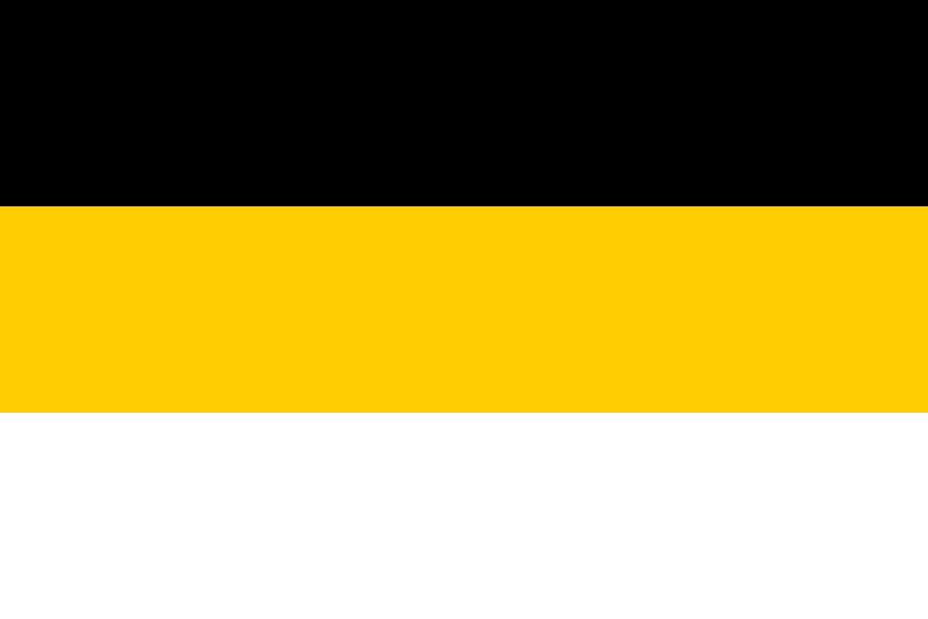 La bandiera nazionale dell'Impero russo usata nel 1858-1883