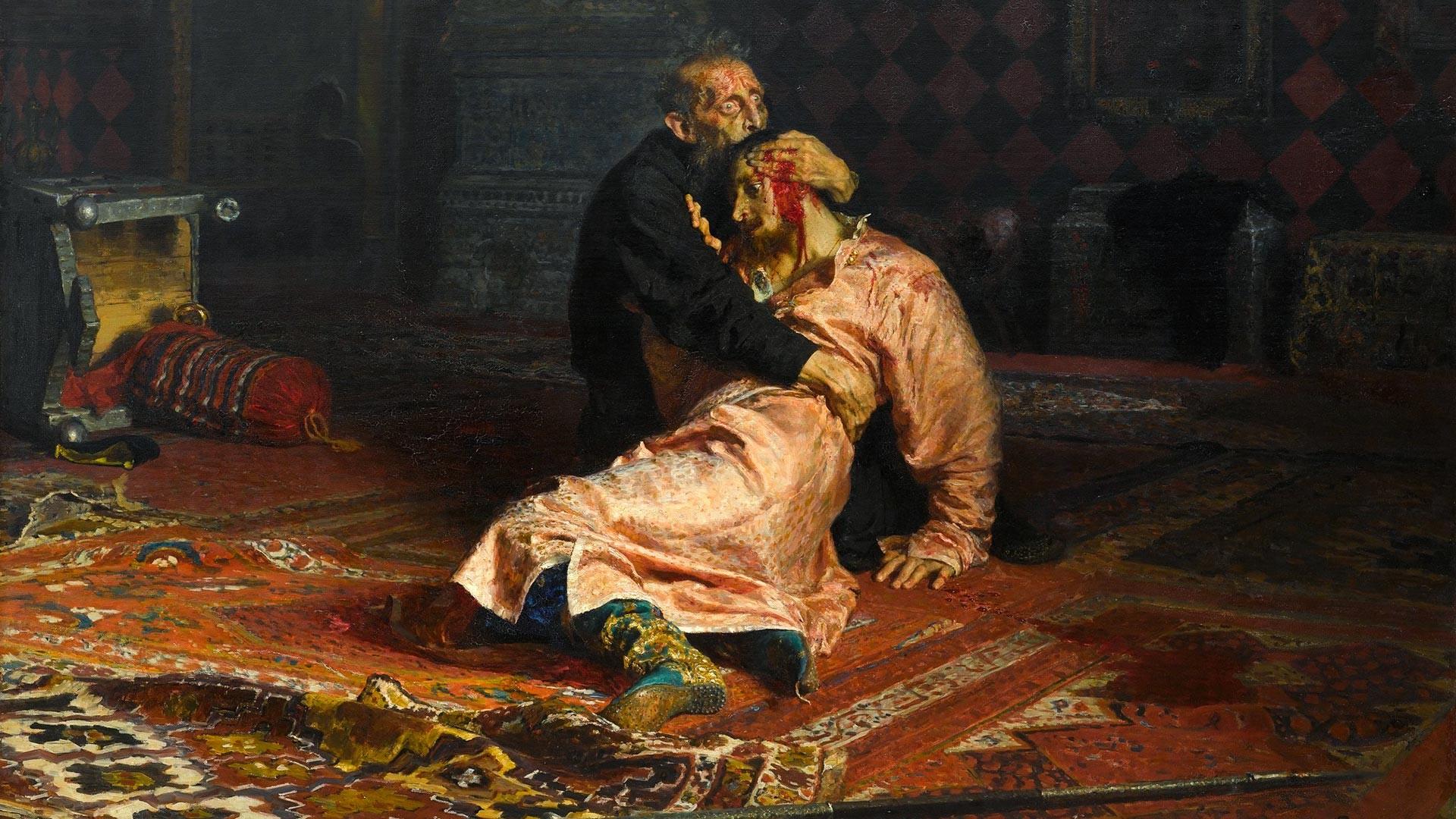 Иван Грозный и сын его Иван 16 ноября 1581 года (1883-85)