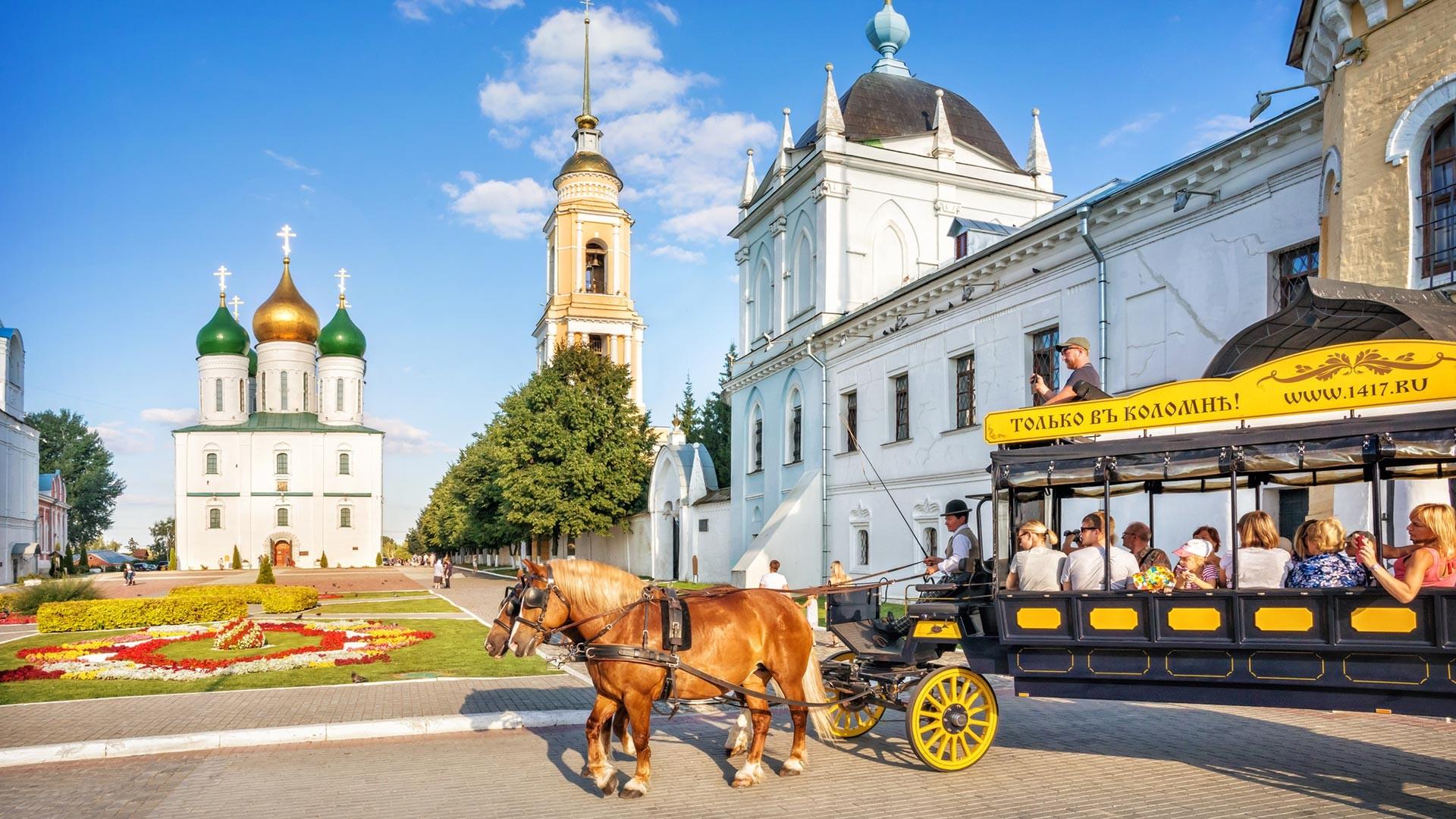 Inside the Kolomna kremlin