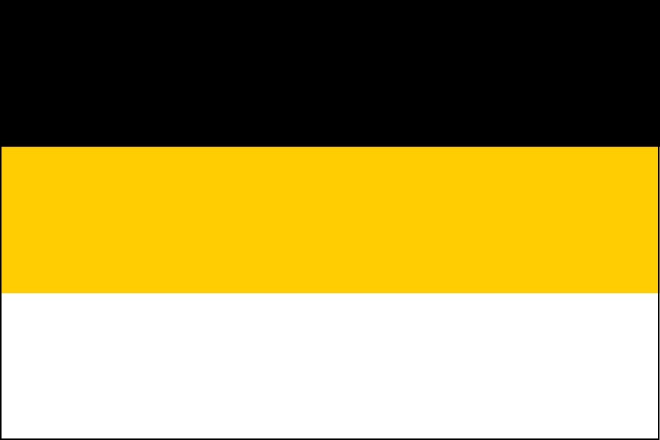 Bandeira nacional do Império Russo usada entre 1858 e 1883
