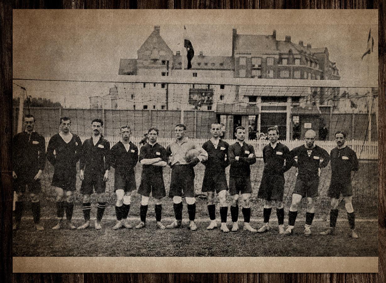 Tim nasional sepak bola Kekaisaran Rusia.