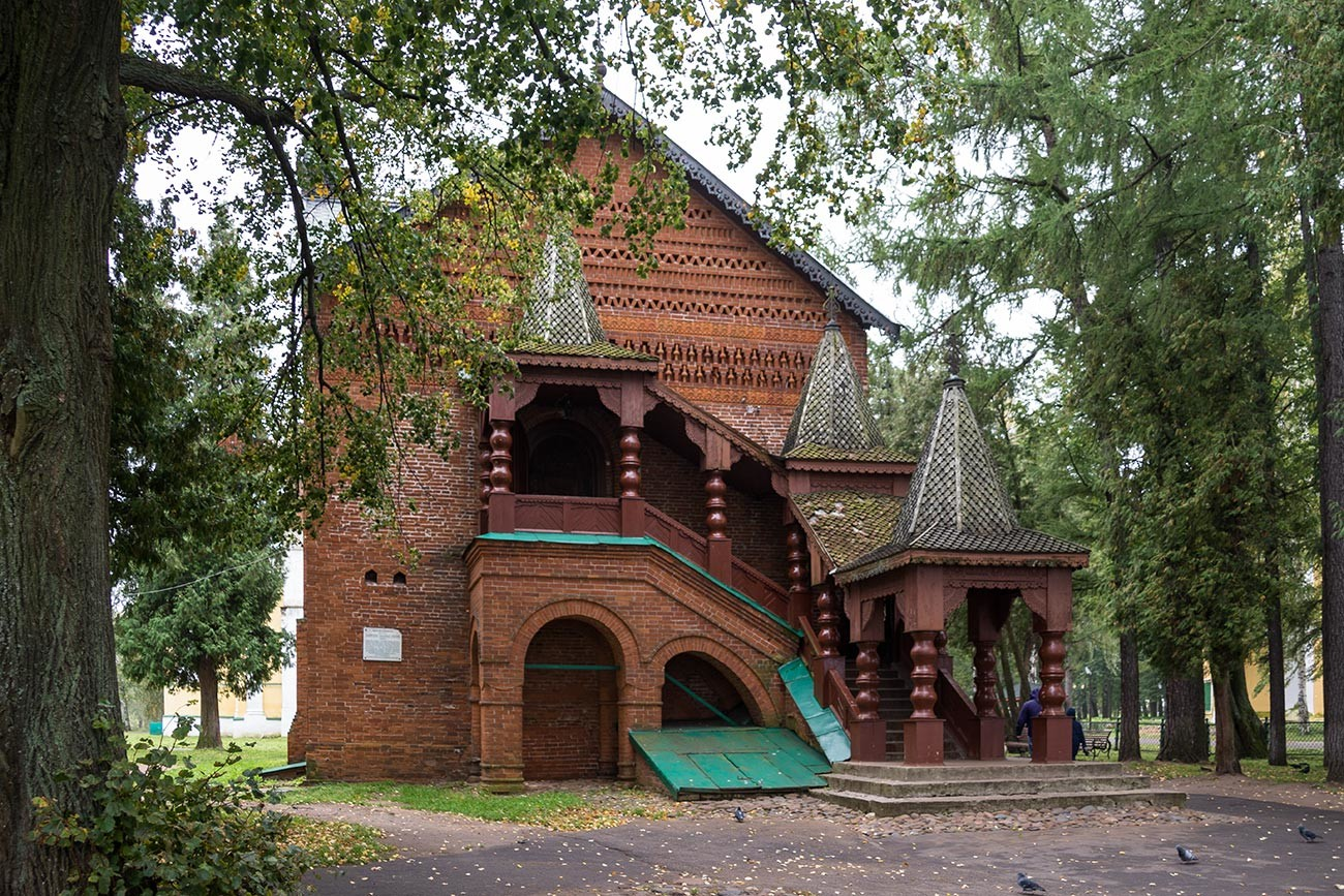 Istana di Uglich, tempat Dmitry tinggal sebelum kematiannya.