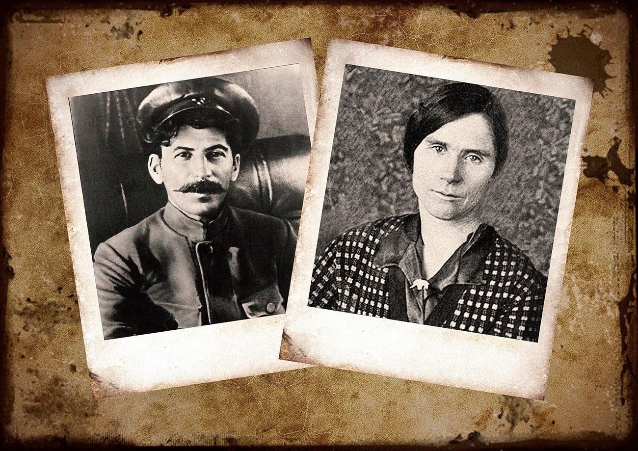 Stalin dan Lida Pereprygina.