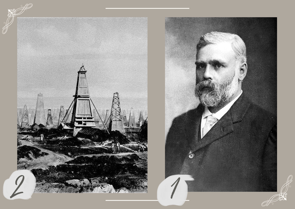 Emmanuel Nobel (2), pozos de petróleo en Bakú, el Imperio ruso.