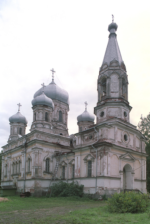 Cerkev Očiščenja, pogled na severozahod. 28. avgust 2006
