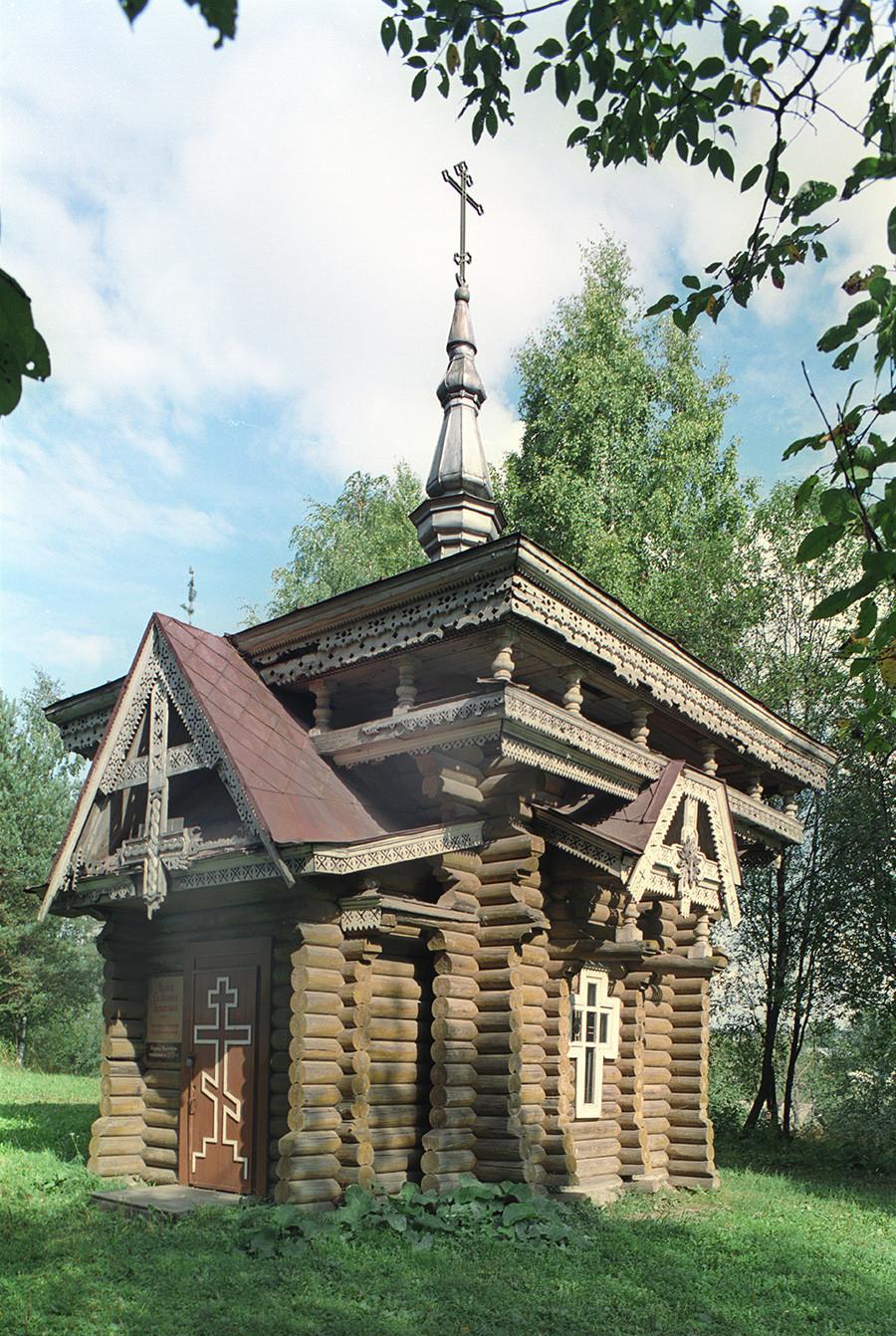 Kapela sv. Izaka Dalmatinskega (1881). 28. avgust 2006