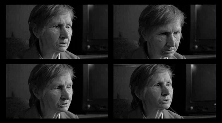 Lydia Chyurinskiene,tangkapan layar dari wawancara untuk proyek 'Moy Gulag'.