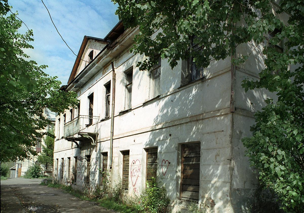 Maison Vikouline, au 54 perspective Lénine. 28 août 2006