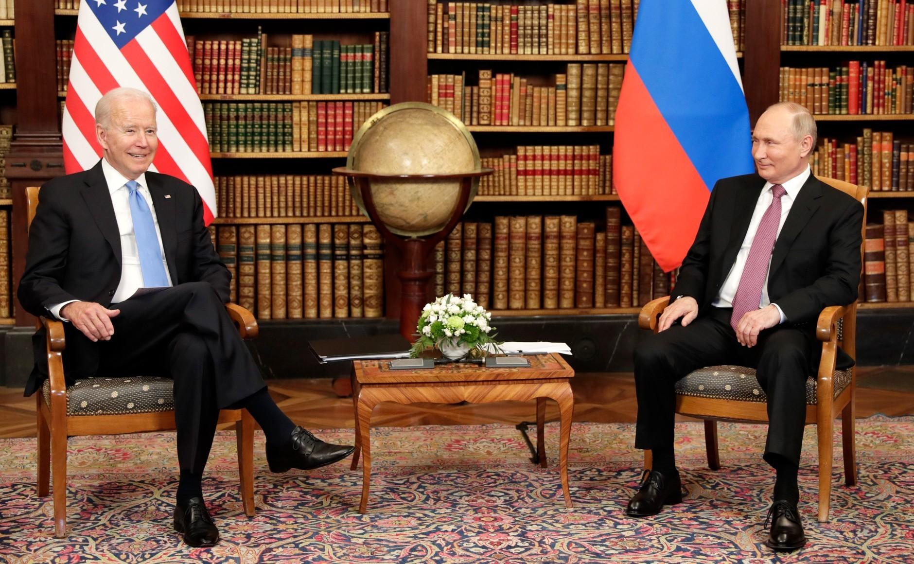 Састанак Бајден - Путин
