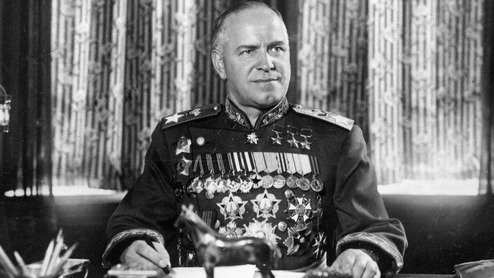 Mariscal de la Unión Soviética Gueorgui Zhúkov.