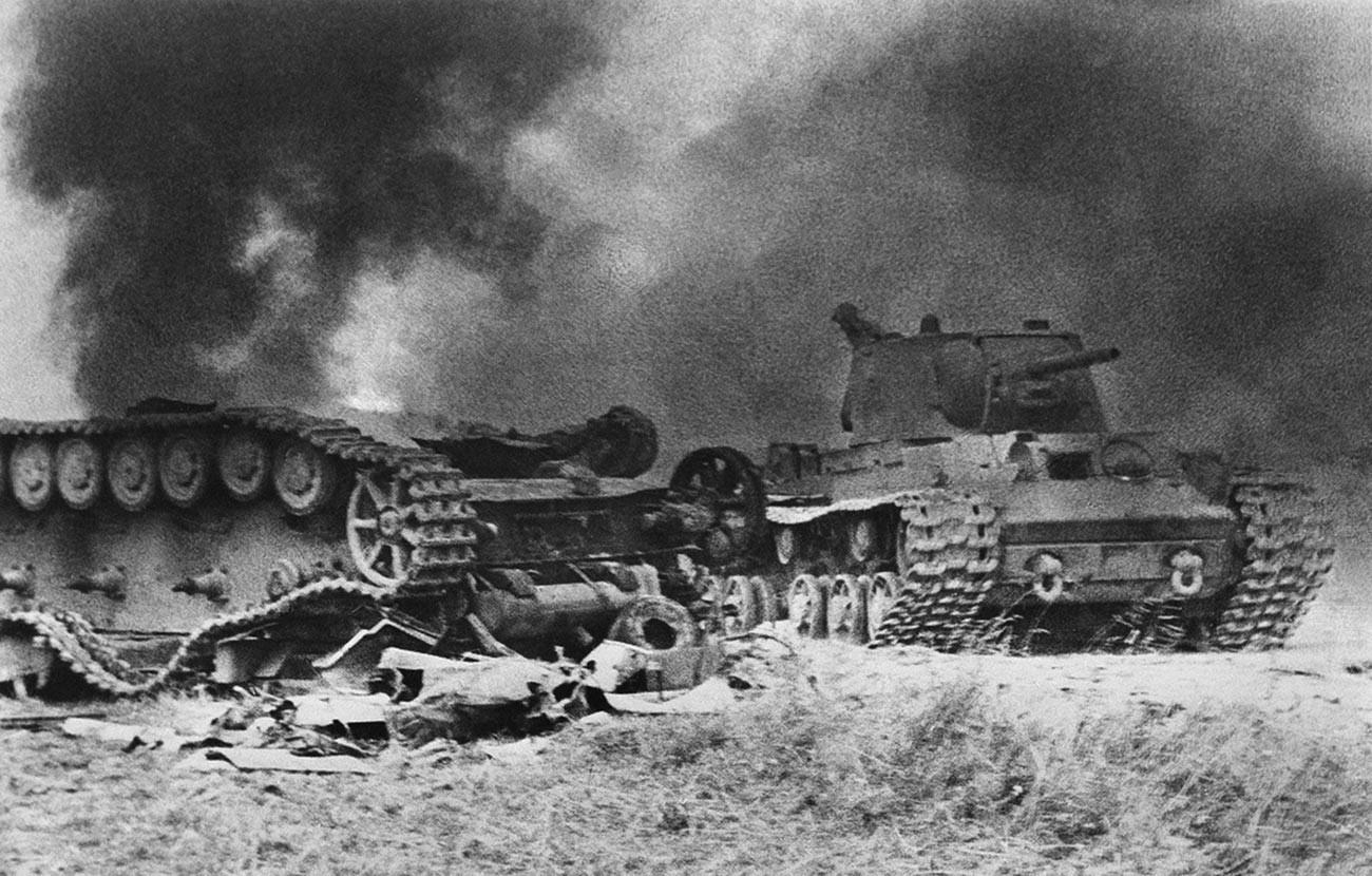 La batalla de Kursk.