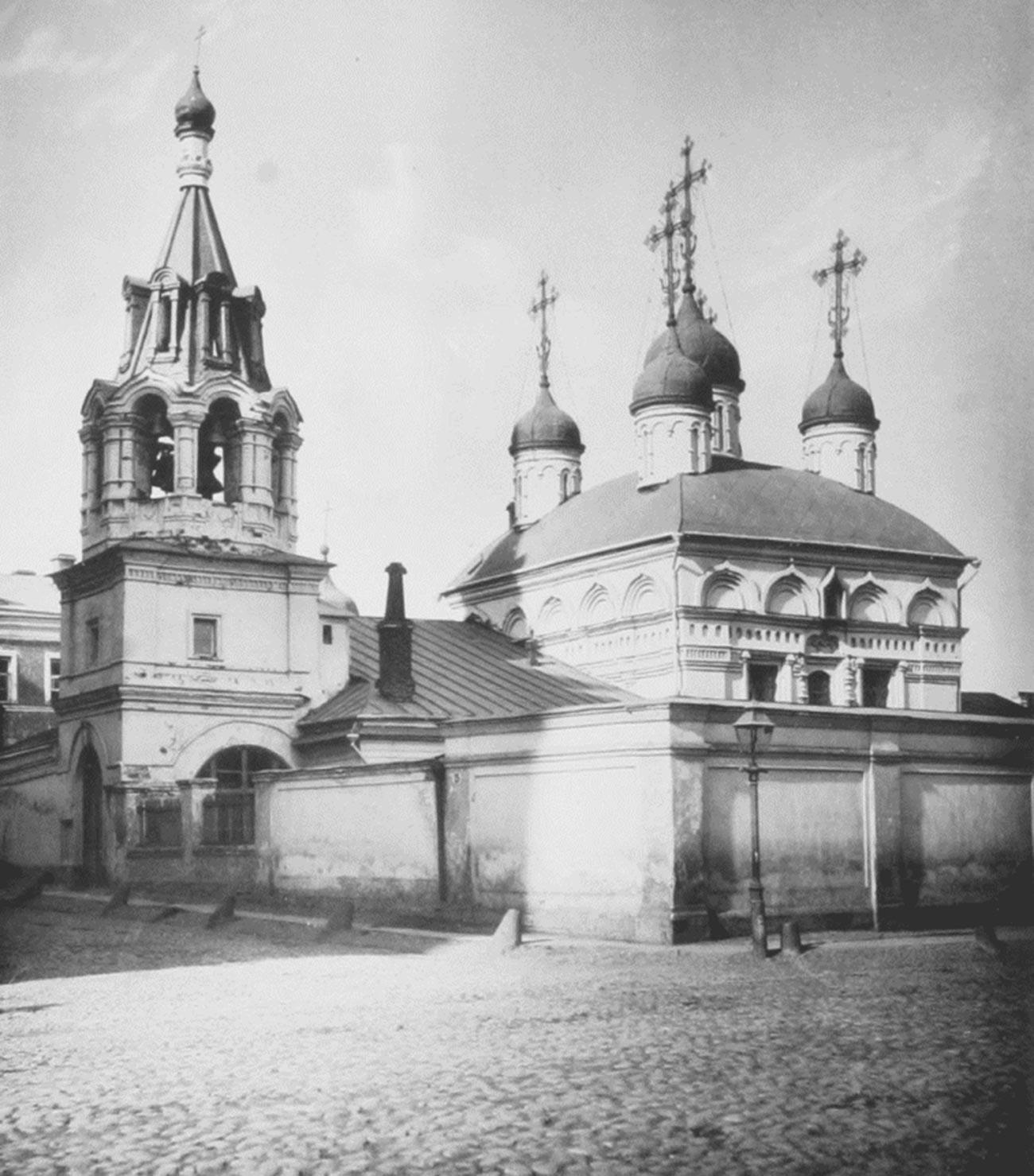 Црква Флора и Лавра (фотографија из албума Николаја Најдјонова, 1882).