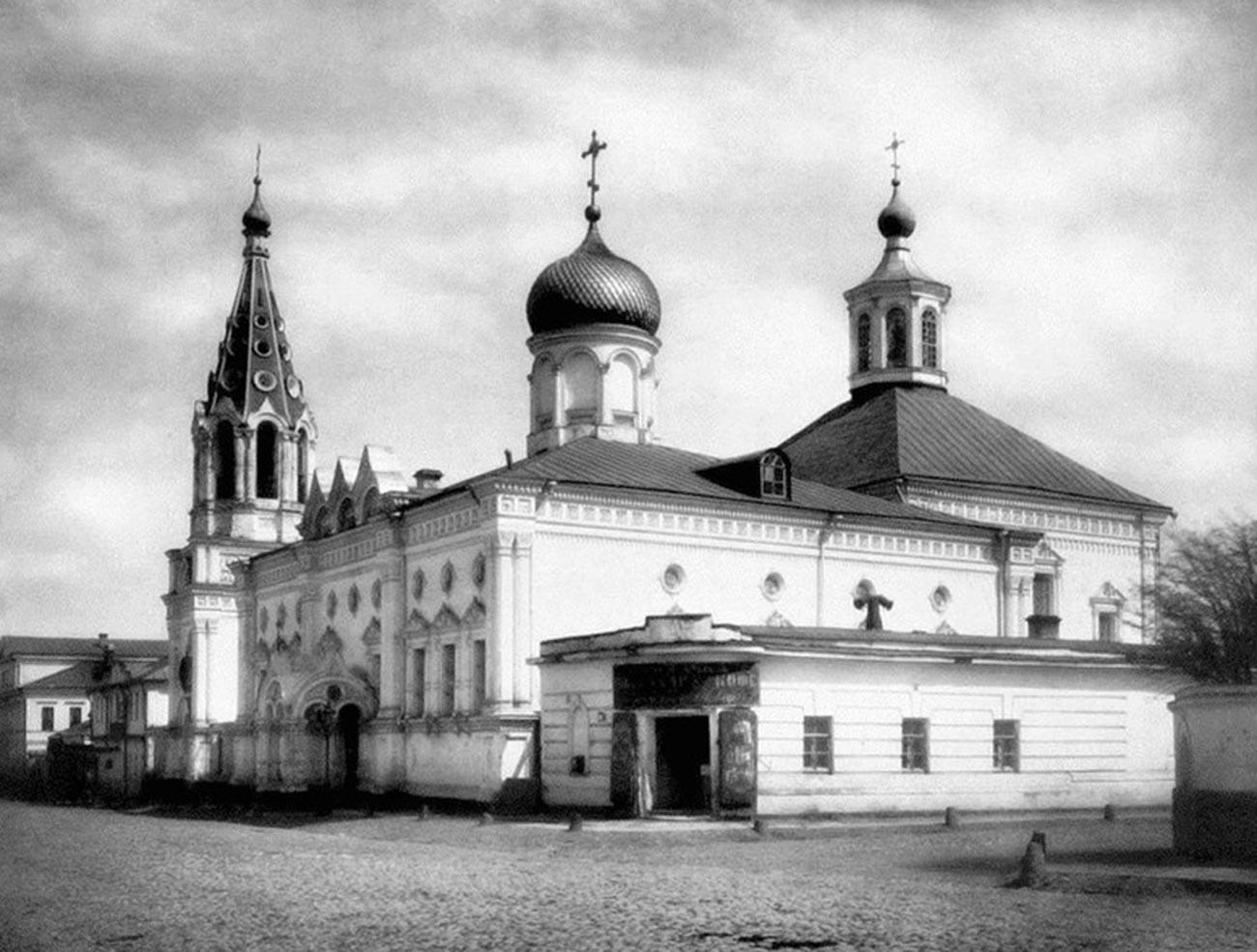 Црква на фотографији из 1882.