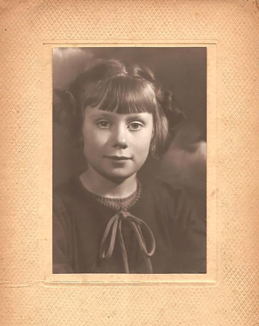 Klara Gourianova (1932-2021) em foto usada em seu perfil no Facebook.