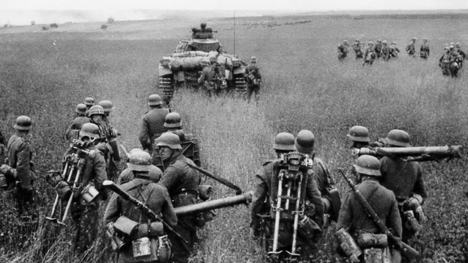 ドイツ軍の攻撃