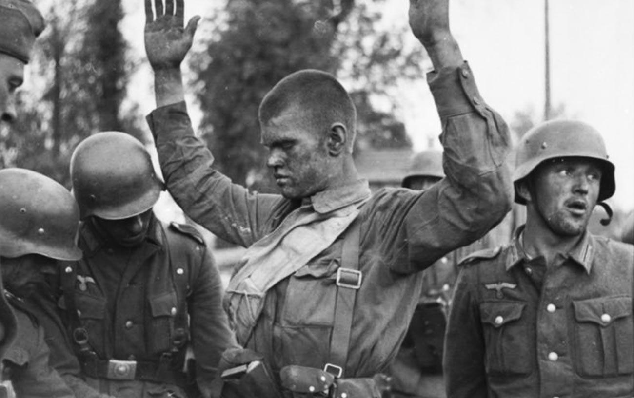 ソ連人捕虜の捜索