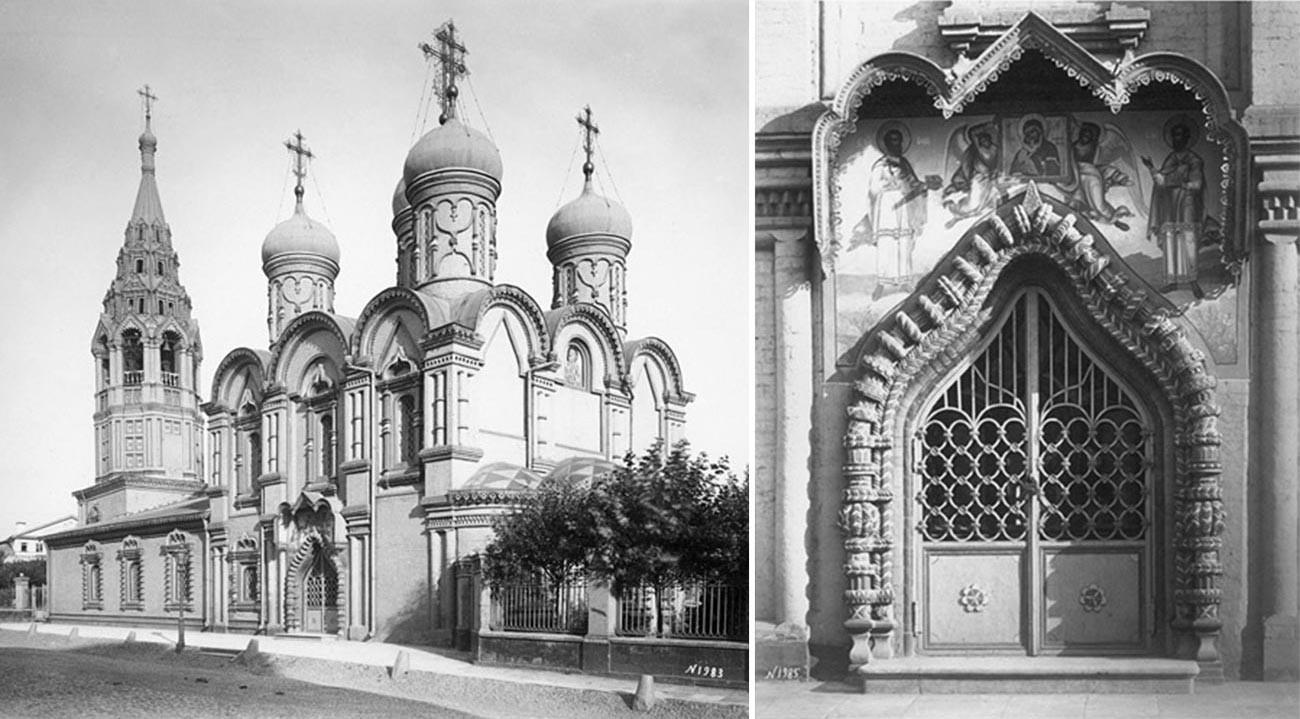 Церковь Космы и Дамиана в Садовниках // Портал церкви