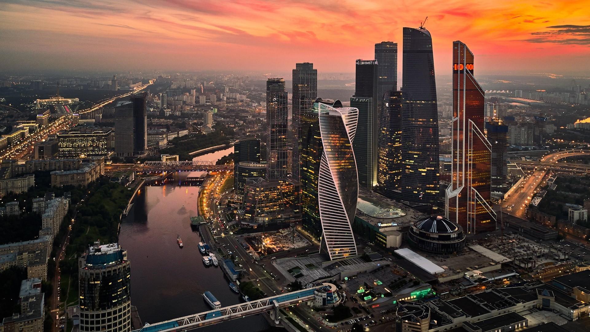 Quartier des affaires de Moscou