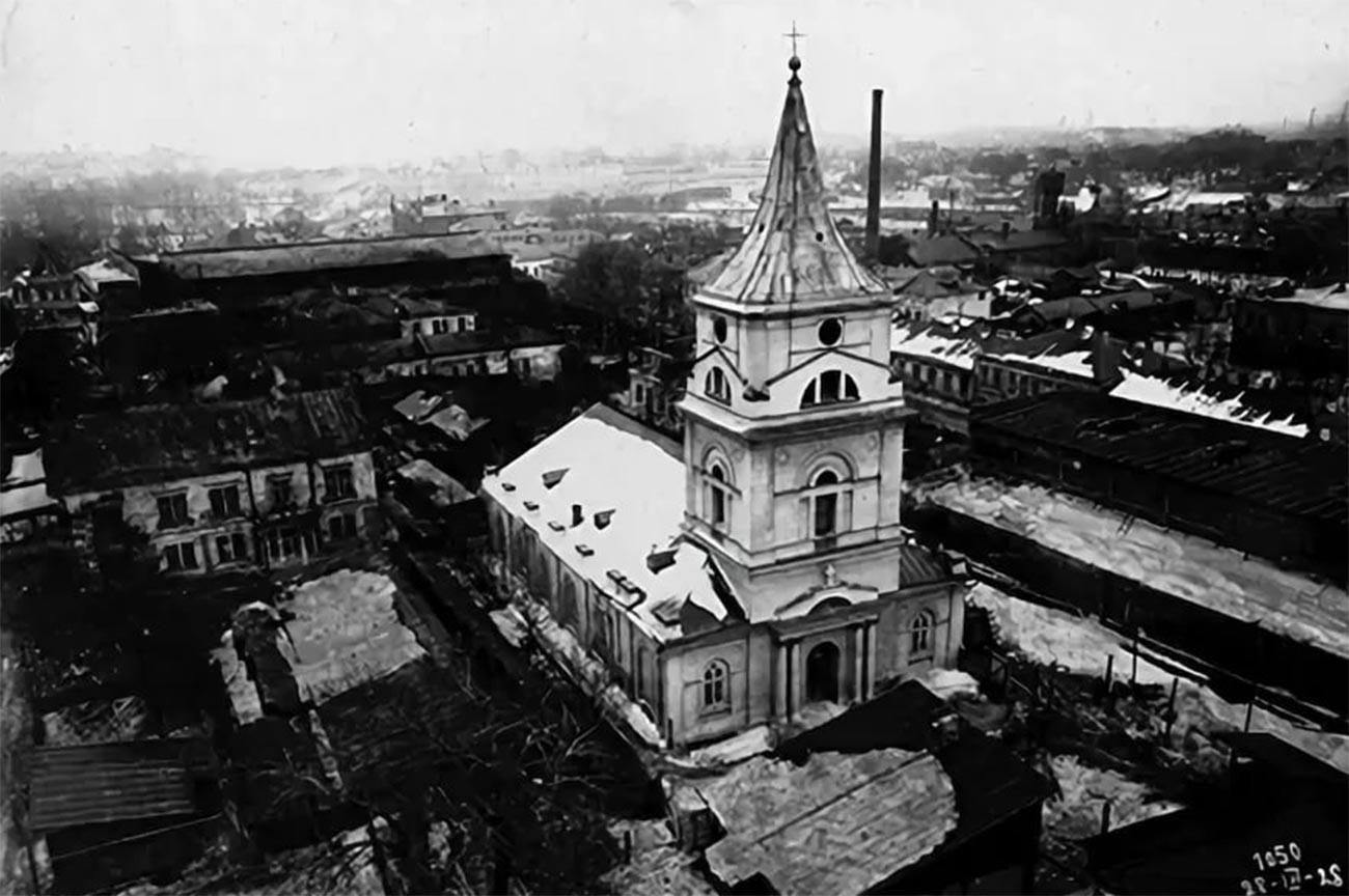 Église luthérienne Saint-Michel en 1928