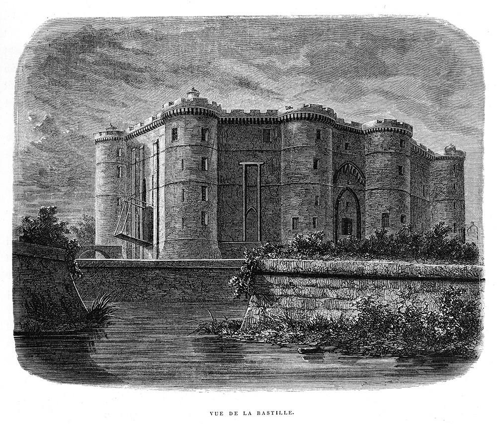 Penjara Bastille.