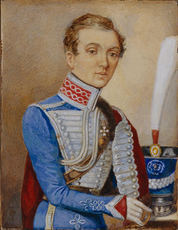 Надежда Дурова в 1810. Из коллекции музея Бородино