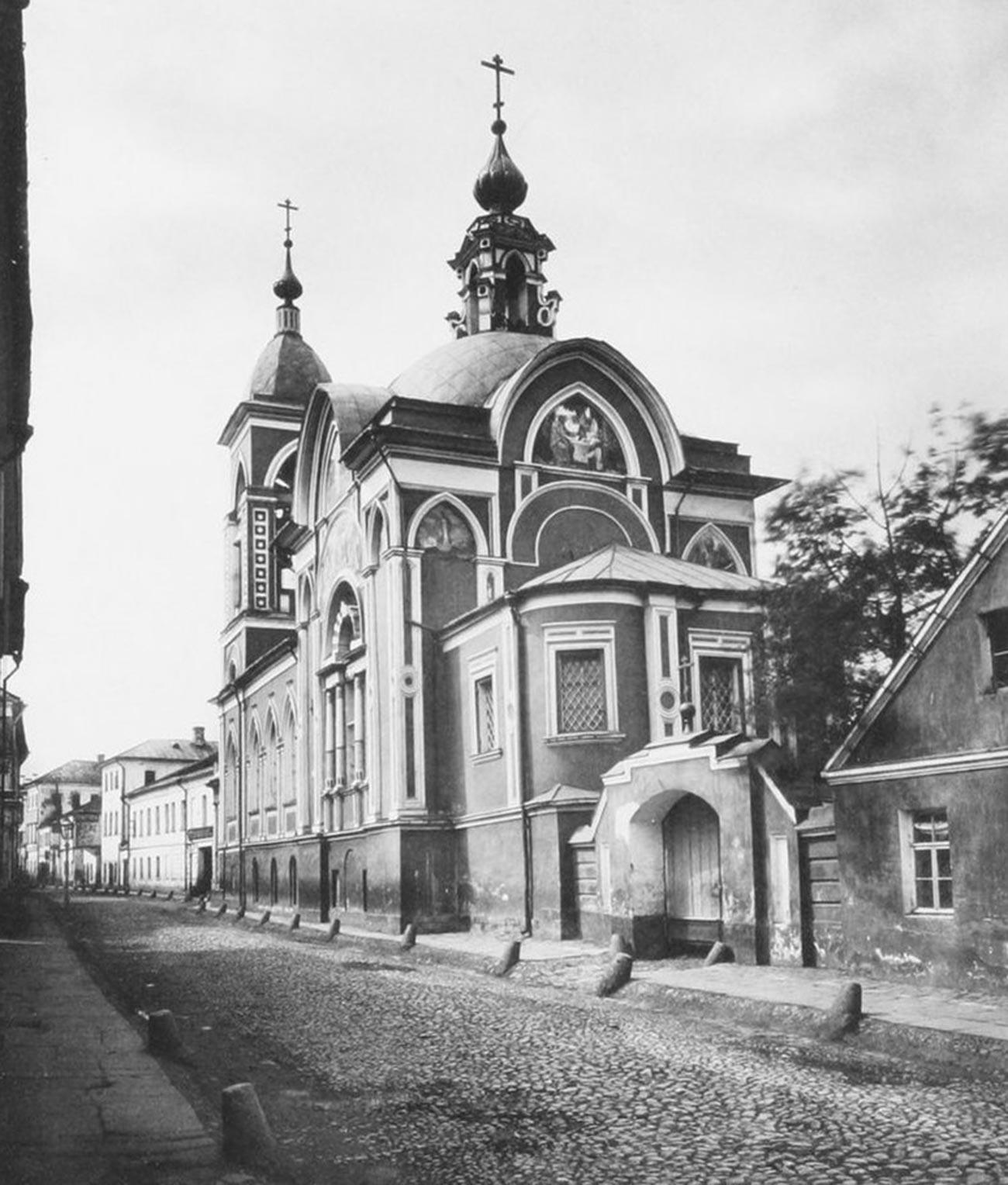 Church of St. Nicholas Mokry in 1883
